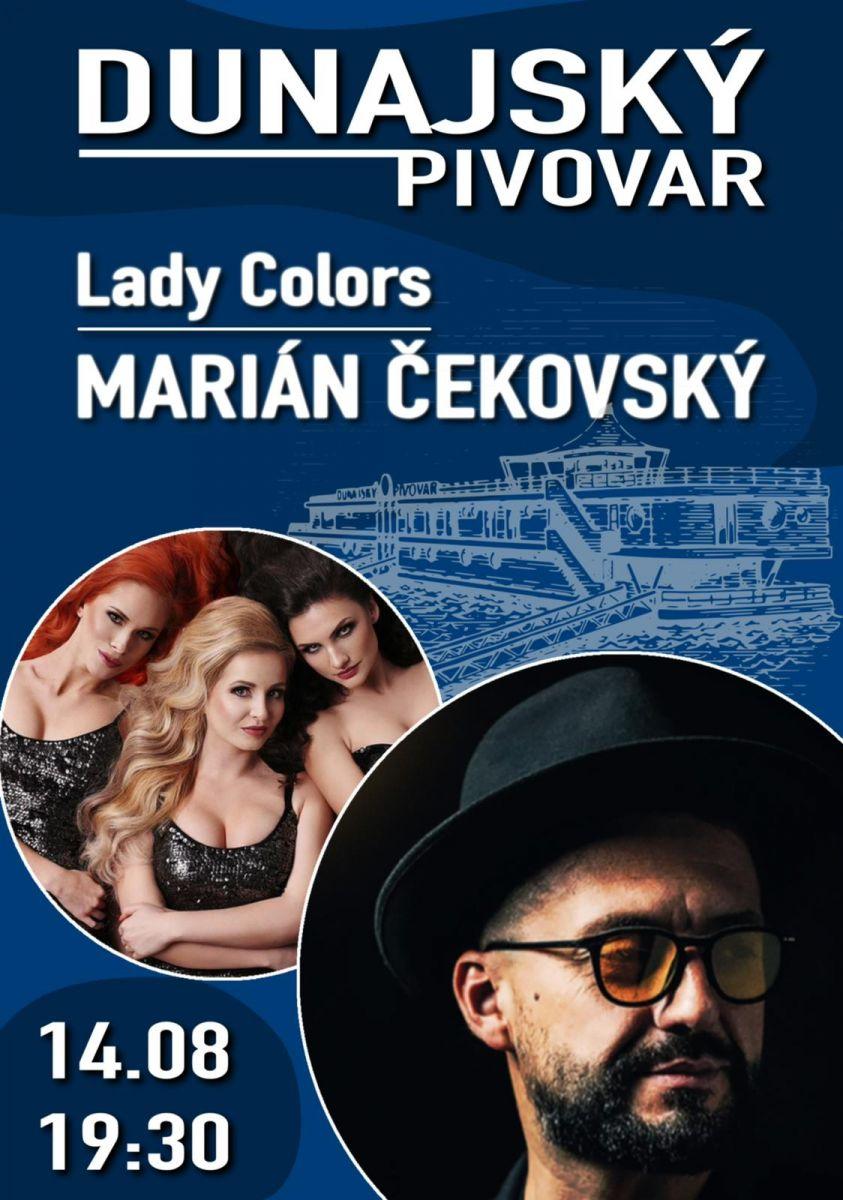 Vstupenka Lady Colors & Marián Čekovský | 14.08.2021 o 19:30