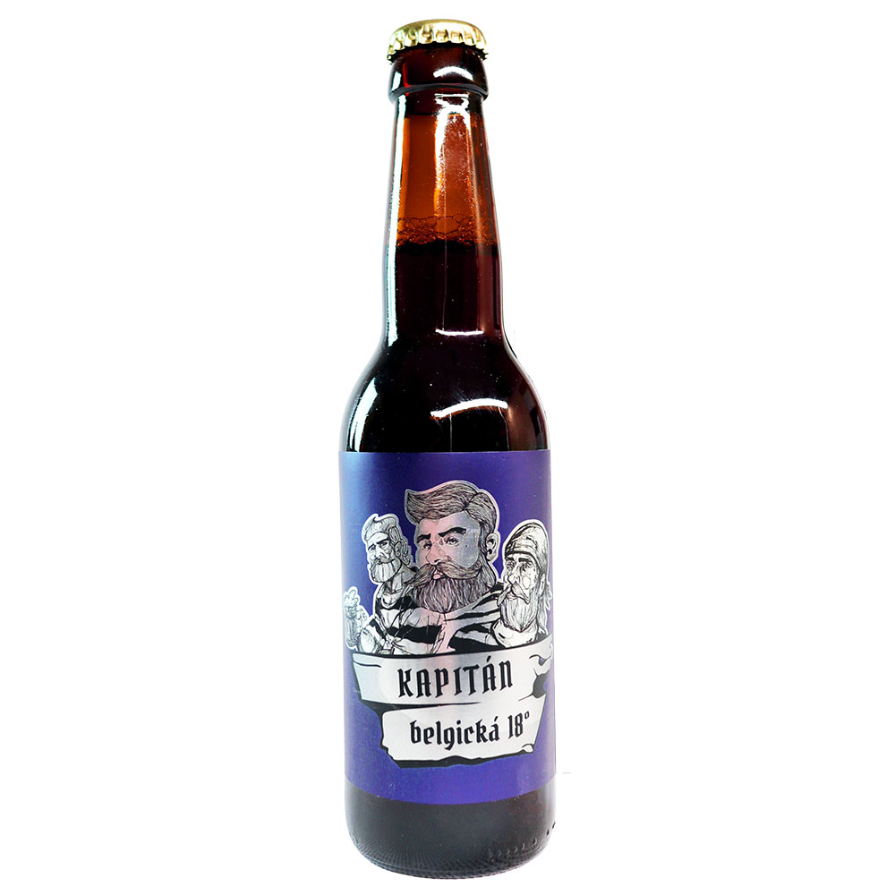 Belgický Kapitán špeciál 18° 3 x 330 ml v skle