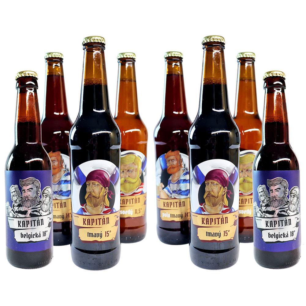 Celá posádka Dunajského pivovaru